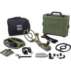 """Garrett ATX DEEPSEEKER Package with 20"""" (50 cm) Deepseeker and 10""""x12"""" DD open searchcoil"""