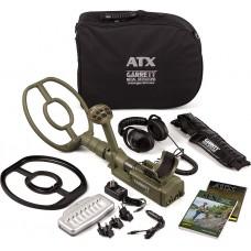 "Garrett ATX with 10""x12"" DD open searchcoil"