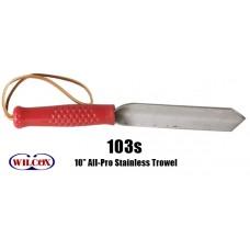 """Wilcox #103 10"""" NARROW TROWEL"""